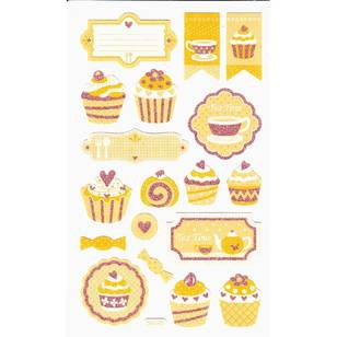 Arbee Cupcakes Paper Sticker