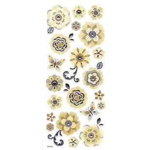 Arbee Foil Flowers Sticker