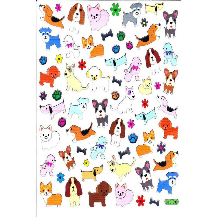 Arbee Dogs & Bones Sticker