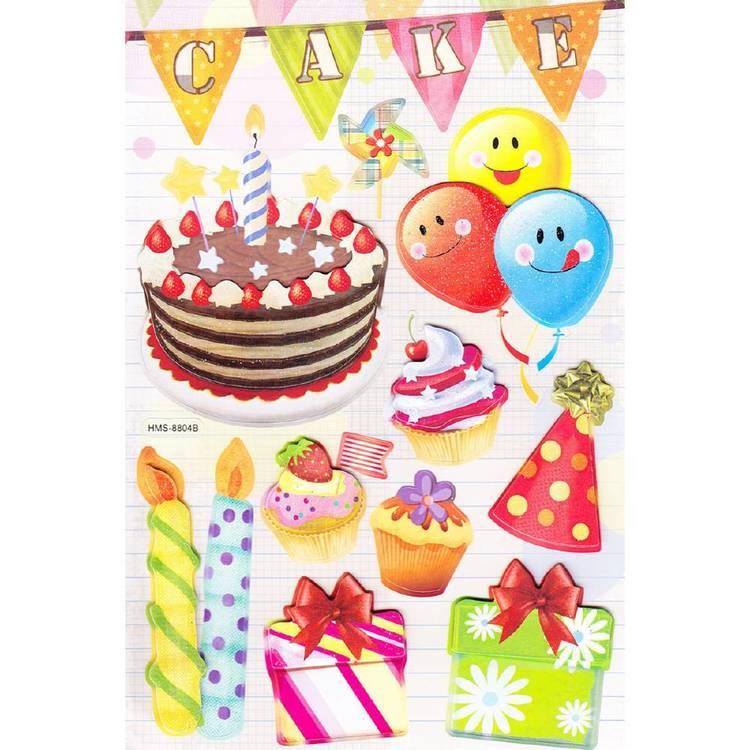 Arbee Cake Sticker