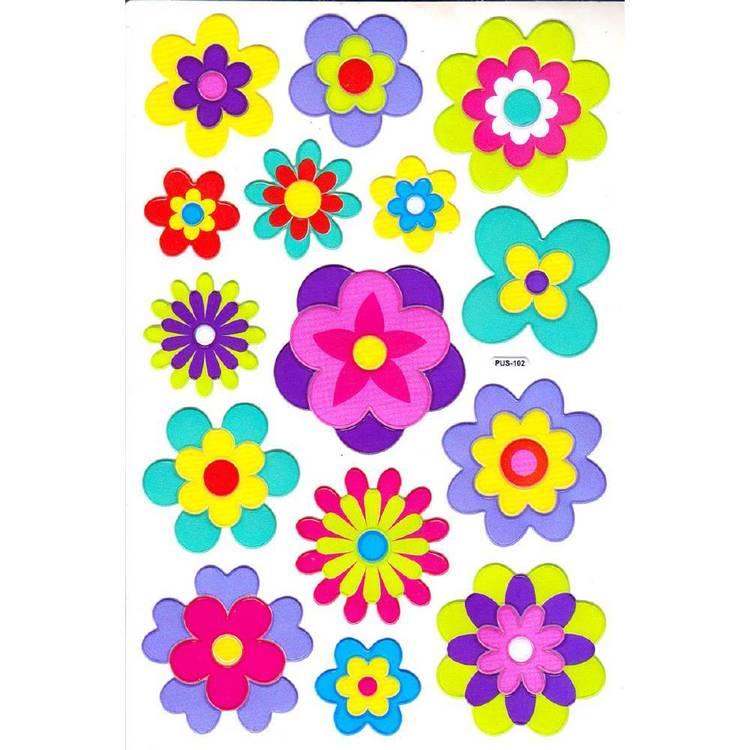 Arbee Fancy Stickers Flowers Sticker