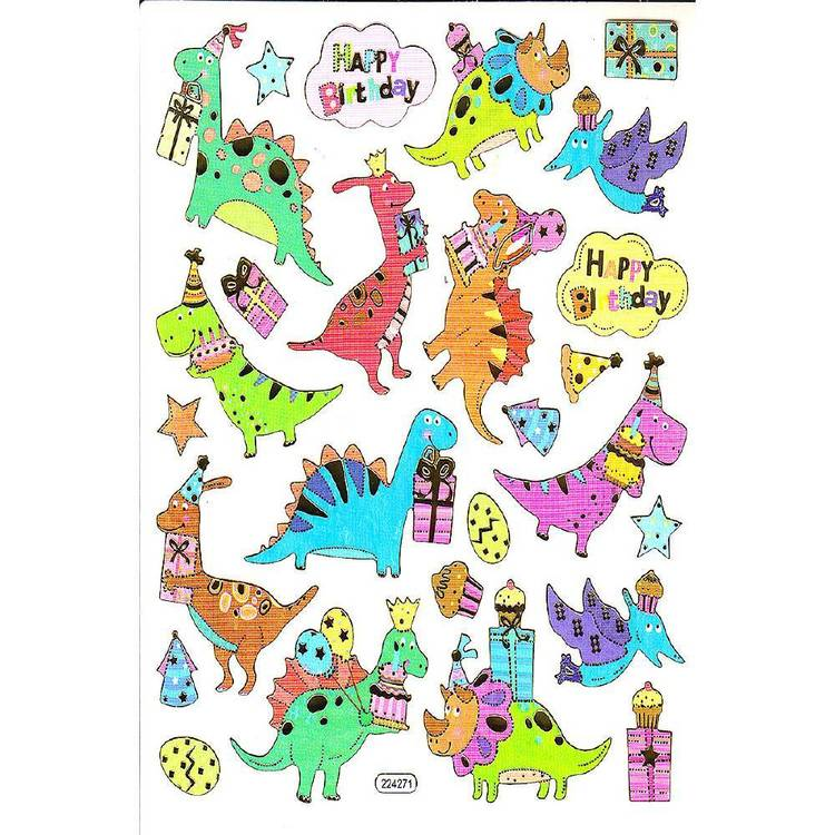 Arbee Dinosaurs Sticker