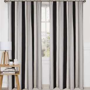 KS Studio Alex Stripe Pencil Pleat Curtains