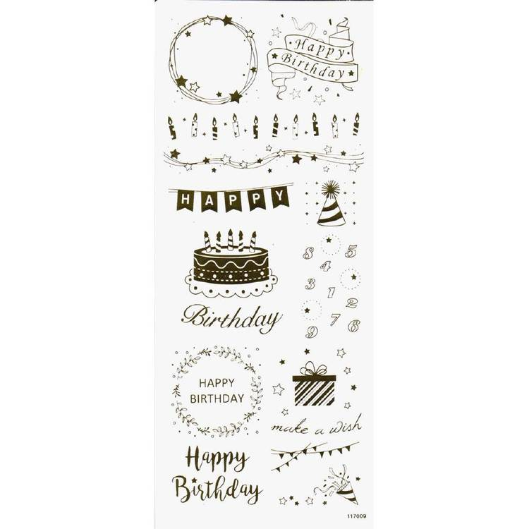 Arbee Birthday Celebrations Sticker