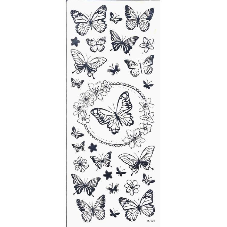 Arbee Butterfly Sticker