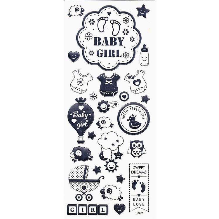 Arbee Baby Girl Sticker