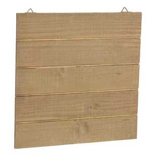 Francheville Square Slatted Wooden Board