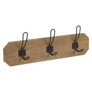 Francheville Rectangle Wood Hanging with Hook