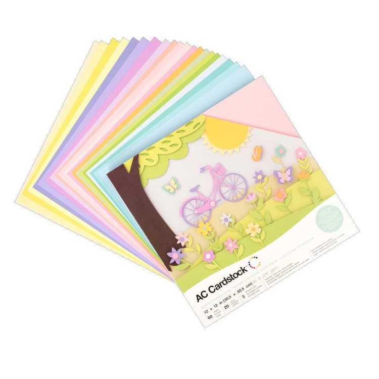 American Crafts Spring Cardstock