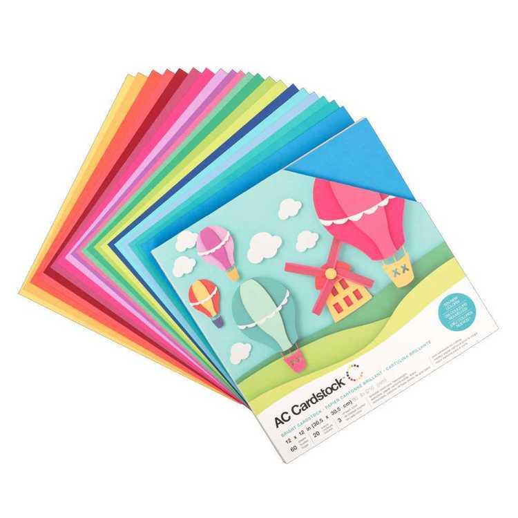 American Crafts Brights Cardstock
