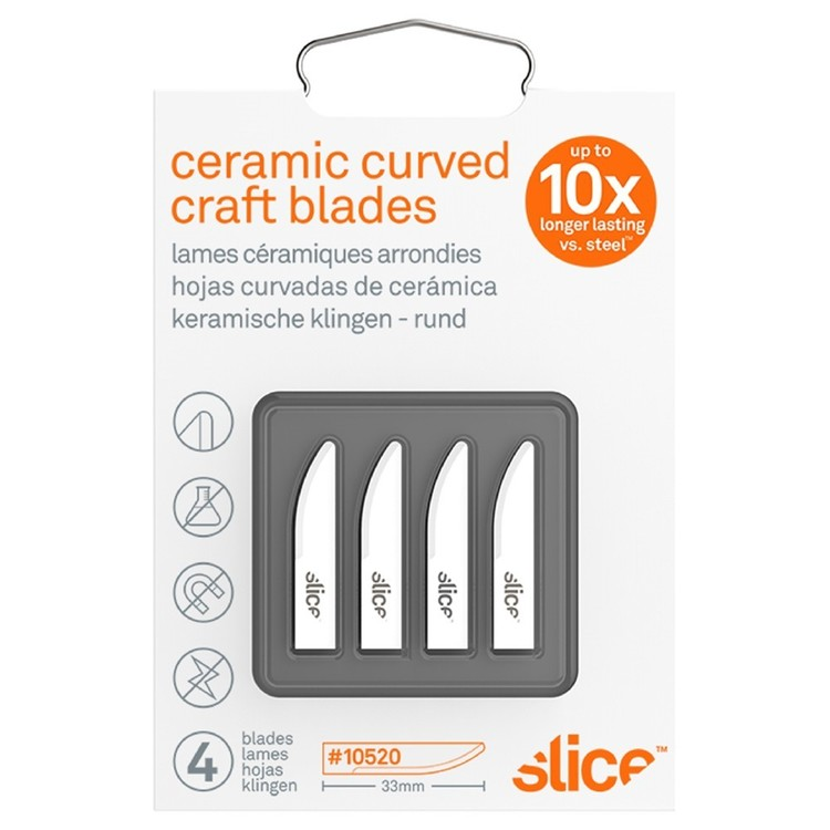 Slice Curved Craft Blades 4 Pack