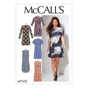 McCall's Pattern M7533 Misses'/Women's Fitted