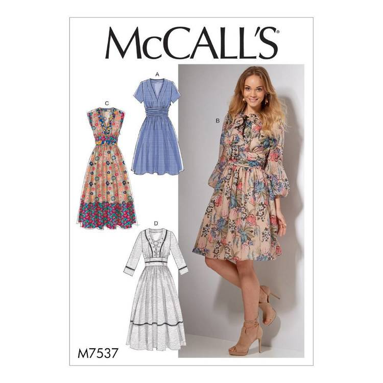 McCall's Pattern M7537 Misses' Banded