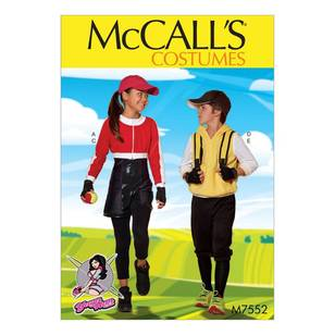 McCall's Pattern M7552 Kids' Cropped Sweat Jacket