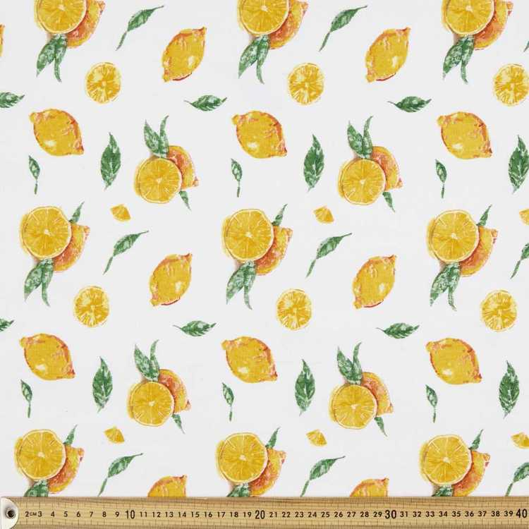 Lemons Fabric - Everyday Bargain