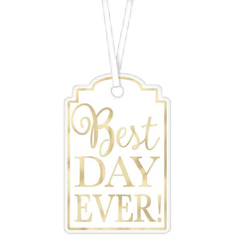 Amscan Best Day Ever Tags