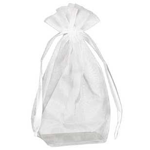 Amscan Box Bottom Organza Bags