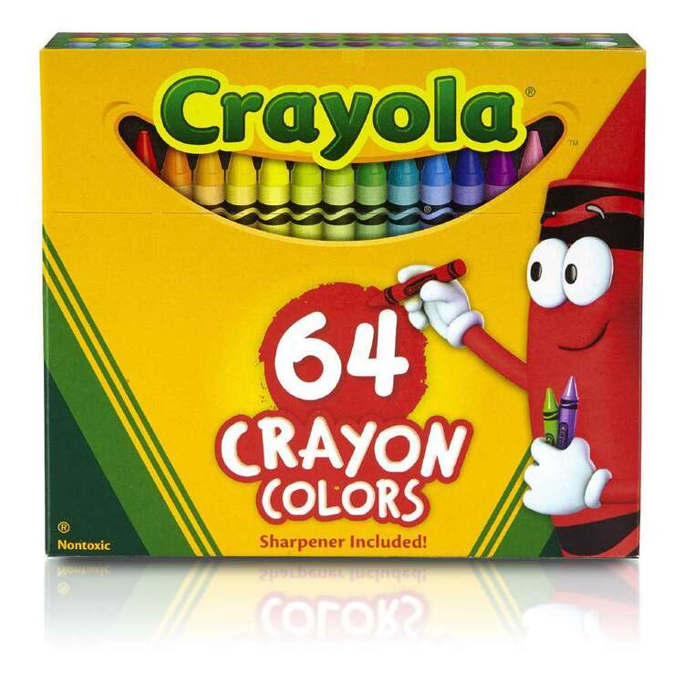 Crayola 64 Crayons Boxed Set