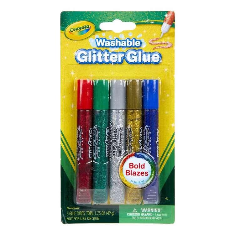 Crayola 5 Pack Washable Glitter Glue