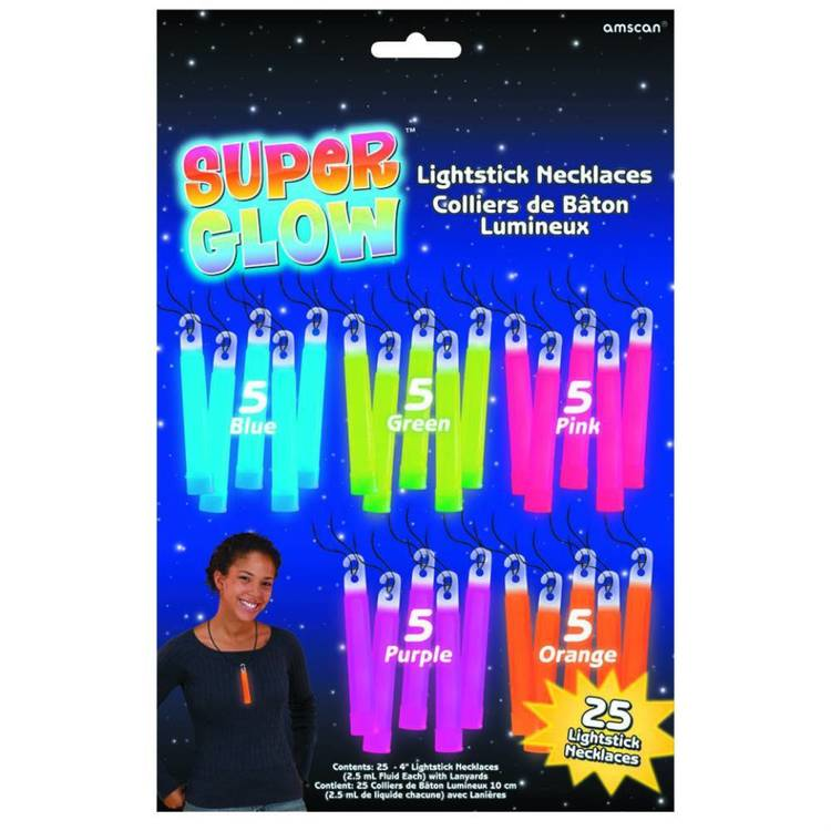 Amscan Mix N Match Glow Stick Mega Pack