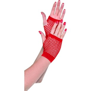 Amscan Mix N Match Short Fishnet Gloves