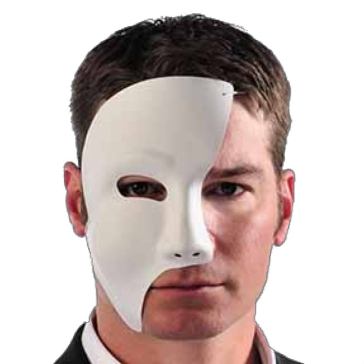 Amscan Mix N Match Phantom Mask