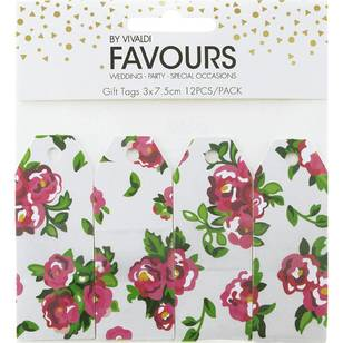 Vivaldi Favours Floral Gift Tags
