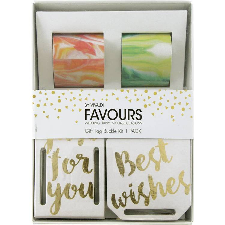 Vivaldi Favours Buckle Birthday Wishes Gift Kit