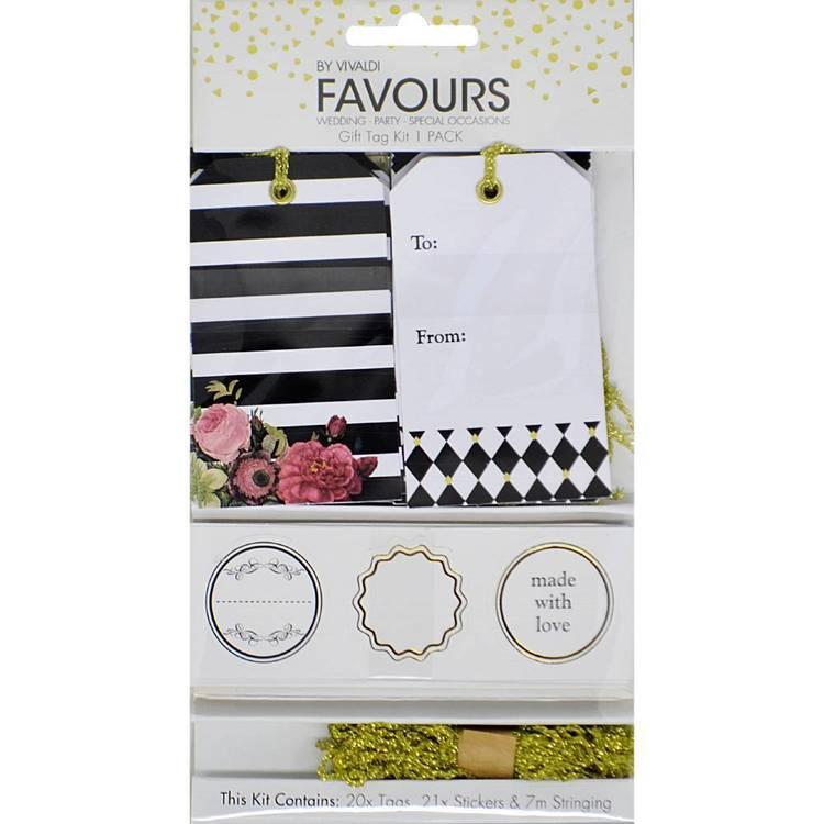 Vivaldi Favours Gift Tag Kit