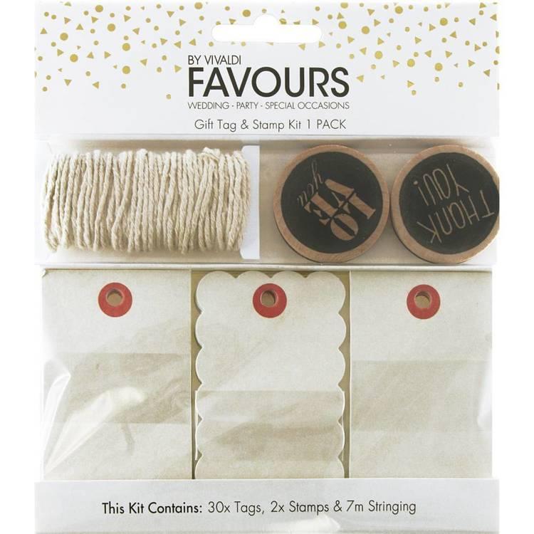 Vivaldi Favours Love Gift Tag Kit
