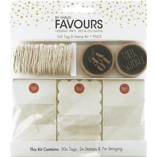 Vivaldi Favours Love Gift Tag Kit