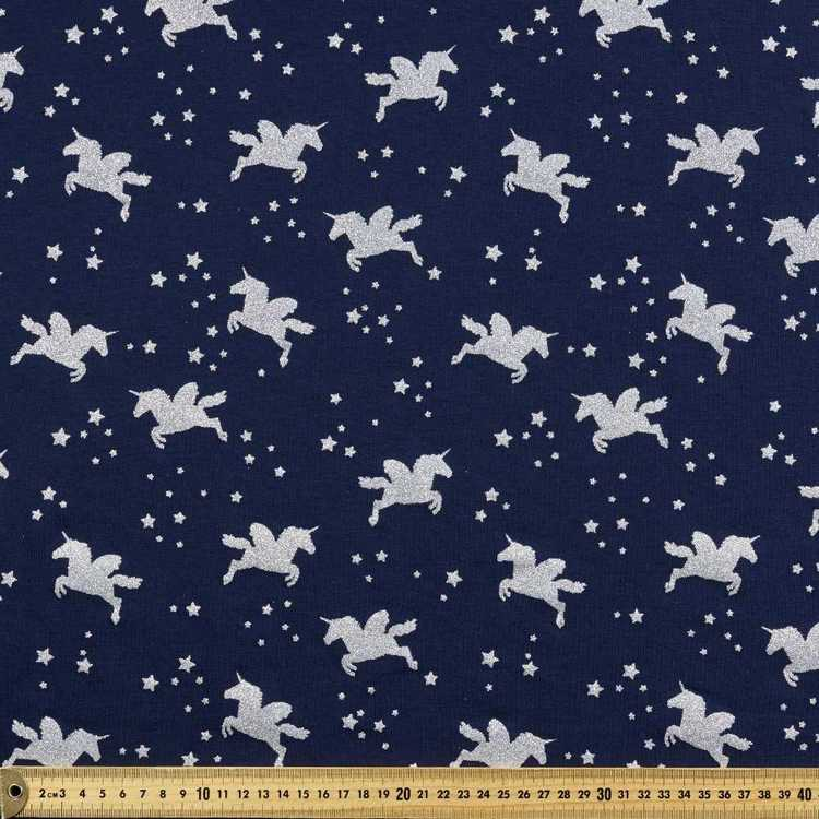 Unicorn Printed Cotton Spandex