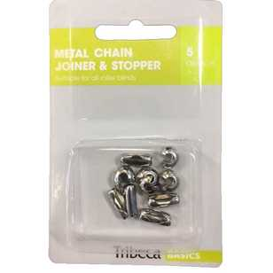 Tribeca Metal Chain Joiner & Stopper