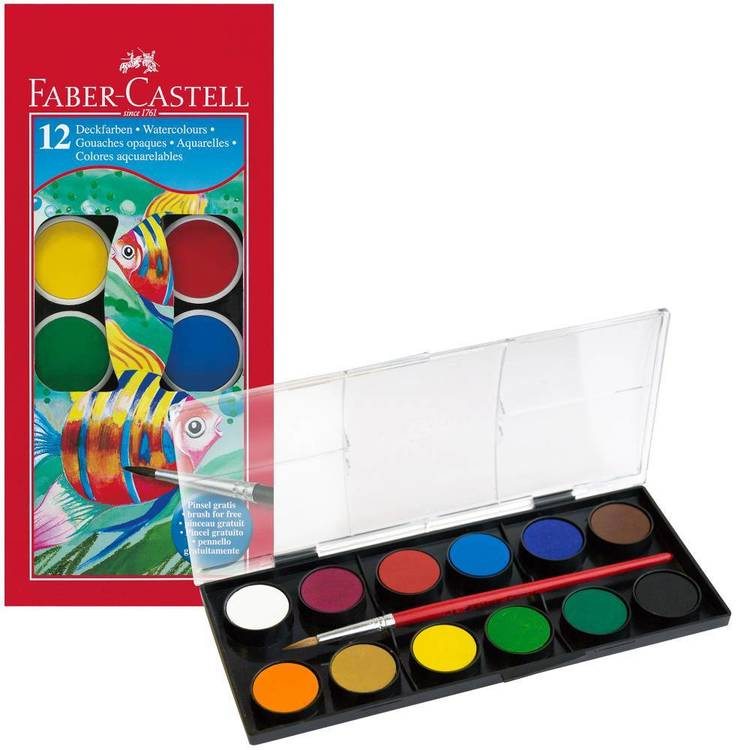 Faber Castell Watercolour Paint Tablet