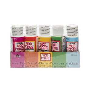 Plaid Mod Podge Starter Pack Craft Set