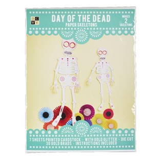 Die Cuts With A View Day Of The Dead Mr Nacho Skeleton Paper Kit