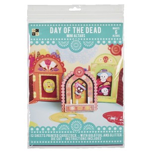 Die Cuts With A View Day Of The Dead Altars Paper Kit