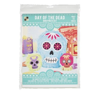 Die Cuts With A View Day Of The Dead Mini Pinatas Paper Kit