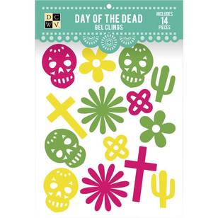 Die Cuts With A View Day Of The Dead Icons Gel