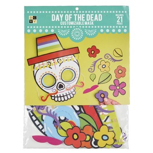 Die Cuts With A View Day Of The Dead Skull Mask
