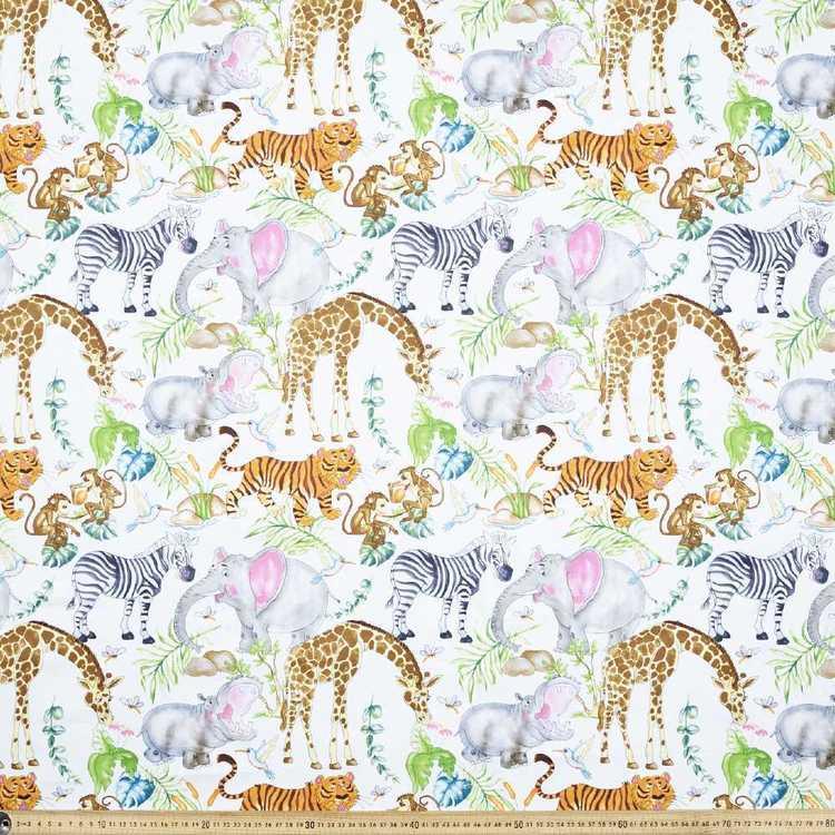 Jangle Printed Uncoated Decorator Fabrics