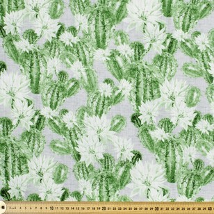 Succulent Printed Uncoated Decorator Fabric