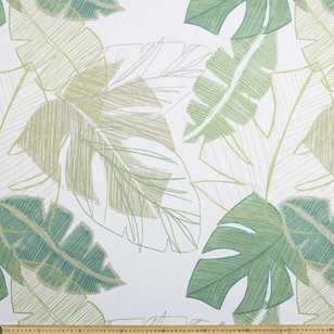 Jungle Printed Triple Weave Fabric