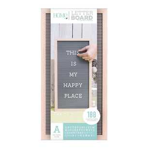 Die Cuts With A View 10 X 20 Inch Letter Board
