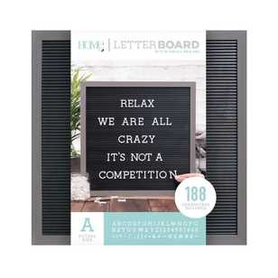 Die Cuts With A View 16 X 16 Inch Letter Board