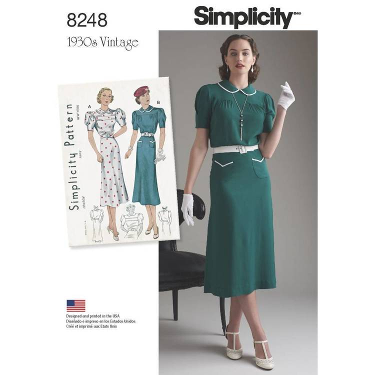 Simplicity Pattern 8248 Dresses
