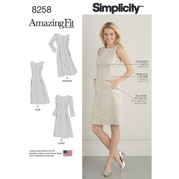 Simplicity Pattern 8258 Dress
