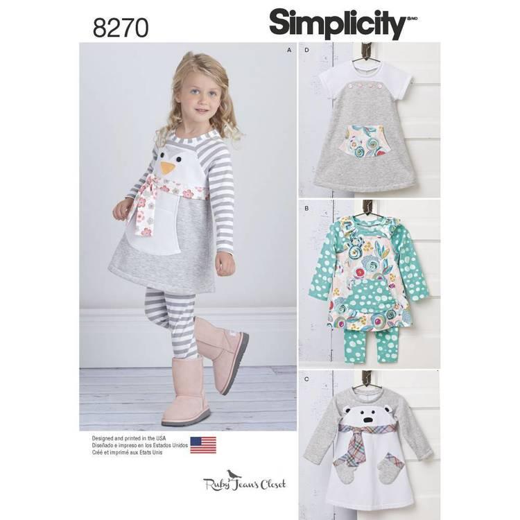 Simplicity Pattern 8270 Knit Sportswear