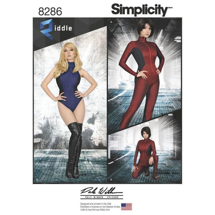 Simplicity Pattern 8286 Jumpsuit & Leotard