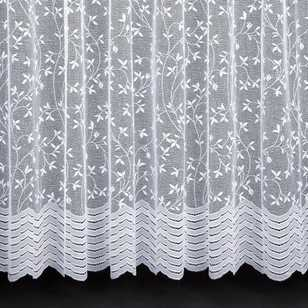 Caprice Ivy Lace-Pack Pencil Pleat Sheer Curtains